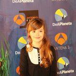 Carmen Sánchez en la presentación de su película protagonista
