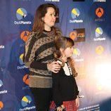 Carmen Sánchez y su madre