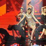 Pilar Rubio bailando en 'MQB'