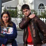 Sandra y Culebra en 'Los protegidos'
