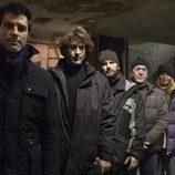 Famosos sin hogar con Jorge Fernández en 'Invisibles'