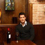 Jaime Cantizano posa en un restaurante de Madrid