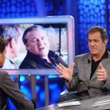 Mel Gibson y Pablo Motos