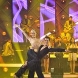 Edurne bailando samba en 'MQB'