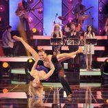 Carmen Lomana baila salsa en 'MQB'