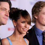 David Conrad, Jennifer Love Hewitt y Christoph Sanders