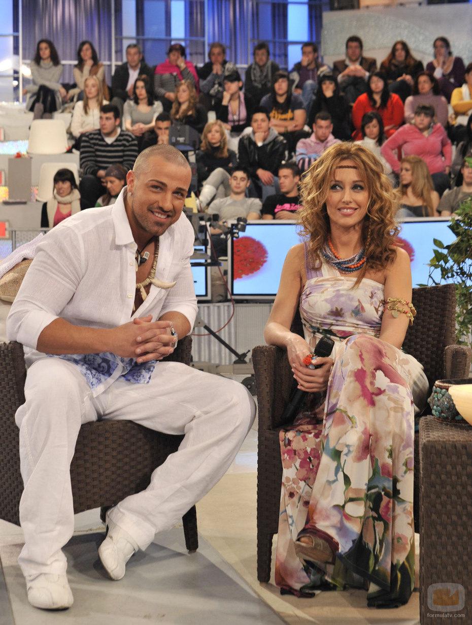 Rafa Mora y Emma García