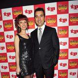 Miguel Lago y su mujer en los TP de Oro 2009