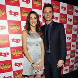La pareja Christian Gálvez y Almudena Cid