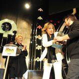 Los hijos de Lola Herrera bromean con el TP de Oro