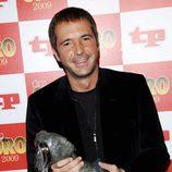 Manu Carreño, de 'Noticias Cuatro Deportes' recoge el TP de Oro 2009