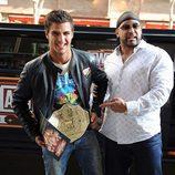 Maxi Iglesias con Alvin Burke