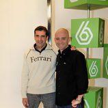 Marc Gené y Antonio Lobato