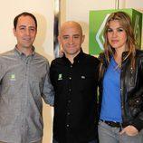 Jacobo Vega, Antonio Lobato y Nira Juanco, juntos en laSexta
