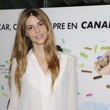 Manuela Velasco en la rueda de prensa de los Oscar 2010 de Canal+