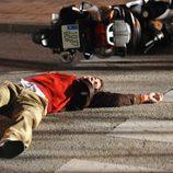 Culebra es atropellado en 'Los protegidos'