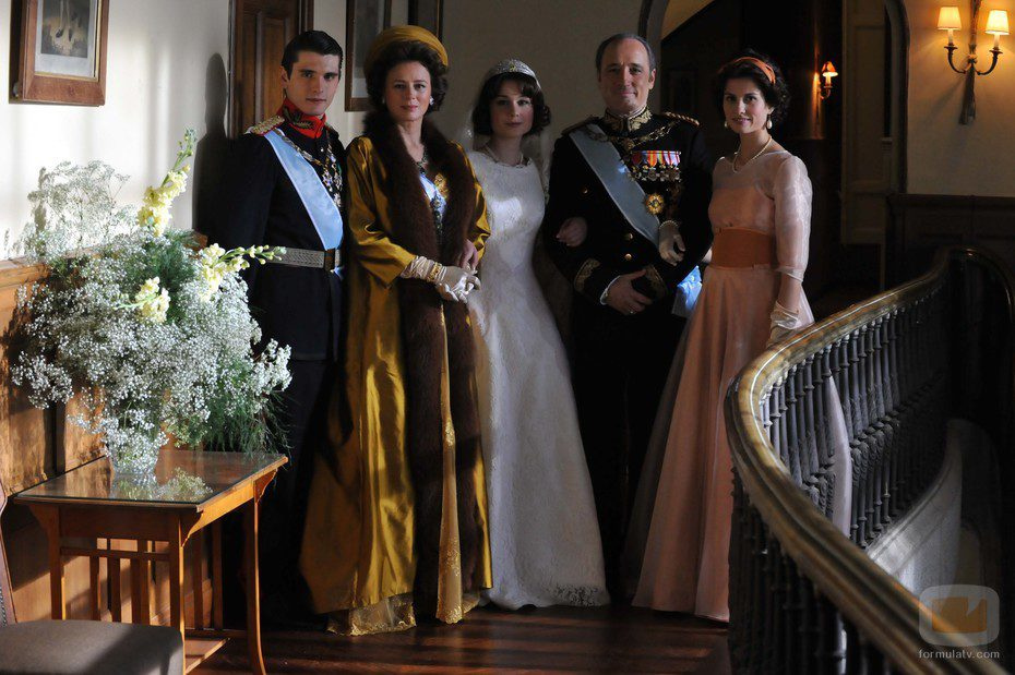 Constantino de Grecia, Federica de Grecia, la Princesa Sofía, Pablo de Grecia e Irene de Grecia