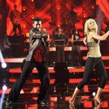 Edurne baila 'Flashdance' en 'MQB'