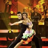 Helen Lindes baila samba en 'MQB'