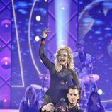 Carmen Lomana baila un pasodoble en 'MQB'