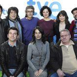 Actores de 'Pelotas' en la segunda temporada
