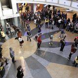 Flashmob de 'Glee' en Príncipe Pío