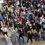 Flashmob de 'Glee' en Madrid
