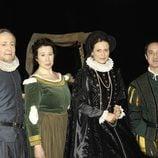 Foto de los actores de la obra de