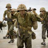 Desembarco de los soldados en 'The Pacific'