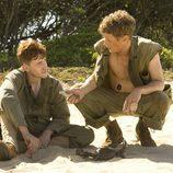 Conversaciones en la playa en 'The Pacific'