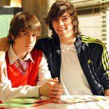 Andreas Muñoz y Mario Marzo en 'Los protegidos'