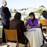 Rosa Ballester habla con Joaquín de la Torre en 'Acusados'