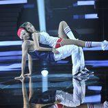 Helen Lindes baila urban dance en 'MQB'