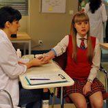 Claudia se hace un análisis de sangre