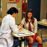 Sandra se hace un análisis de sangre