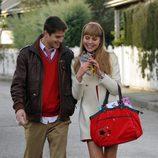 Culebra y Claudia pasean juntos