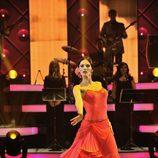 Helen Lindes baila un pasodoble en 'MQB'