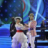 Santi Rodríguez baila 'supercalifragilisticoespialidoso' en 'MQB'