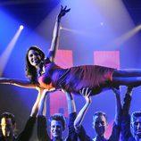 El baile de Pilar Rubio en la gala 7 de 'MQB'