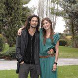 Marta Nieto y Hugo Silva