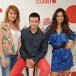 Marina Lozano, Iñaki López y Zaira Nara