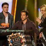 Zachary Levi en los Kids Choice Awards 2010