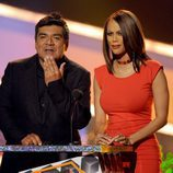 George Lopez y Tyra Banks