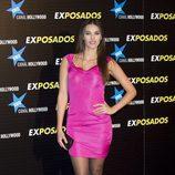 "Helen Lindes en la première de ""Exposados"""