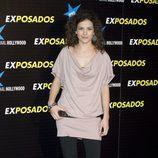 La actris Sandra Blazquez en la premiere de 'Exposados'