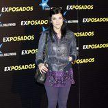 Virginia Maestro en la premiere de 'Exposados'