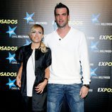 Luján Argüelles y su marido