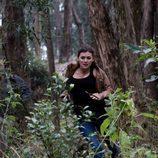 Marta Nieto y Pere Brasó corren por el bosque