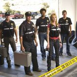 Reparto de 'CSI: Las Vegas', con William Petersen