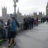 Betty Suarez graba el final de la serie en Londres